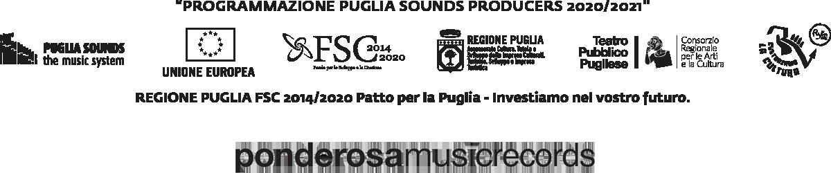 Loghi Puglia Sounds e Ponderosa